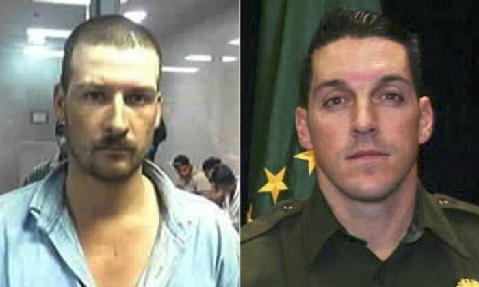 L-Heraclio Osorio-Arellanes. (FBI); R-Former U.S. Border Patrol Agent Brian Terry. (U.S. Customs and Border Protection)