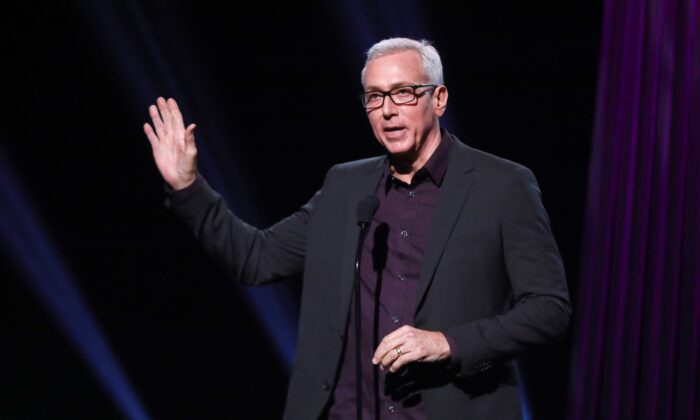 Dr, Drew Pinsky speaks onstage during the 2019 iHeartRadio Podcast Awards in Burbank, California, on Jan. 18, 2019. (JC Olivera/Getty Images)