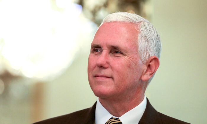 Vice President Mike Pence at the White House in Washington on July 23, 2018. (Samira Bouaou/The Epoch Times)