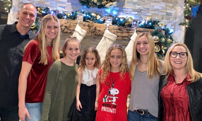 The Benzel family during Christmas 2019. (Julianne Benzel)