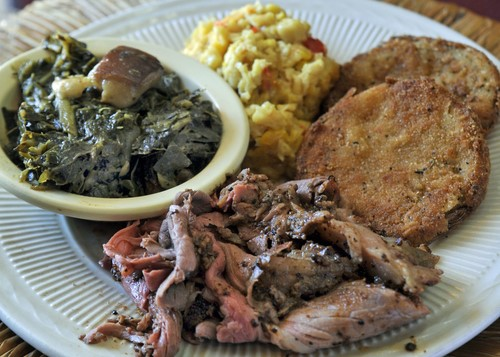 Roast beef and sides from Arnold's Country Kitchen. (Courtesy of Arnold's Country Kitchen)
