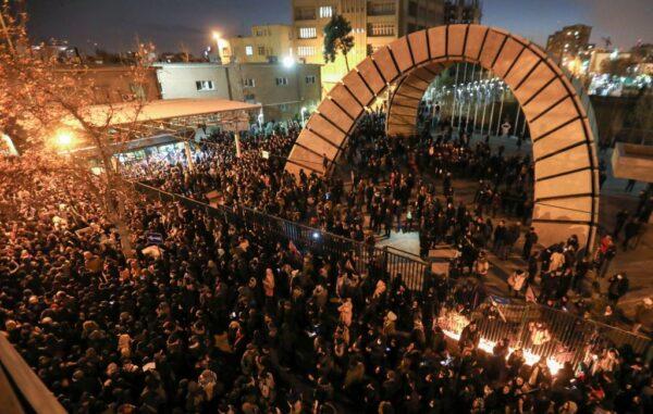 Tehran Iran protests