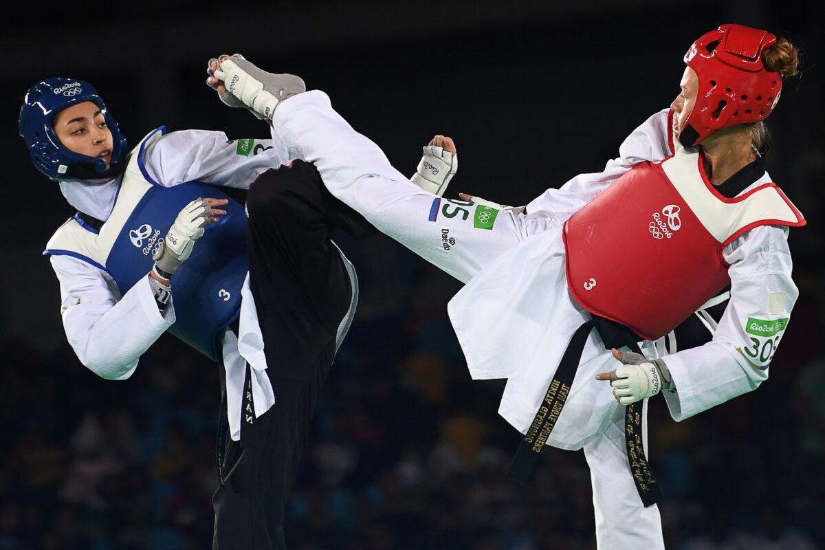 Iran medalist Kimia Alizadeh