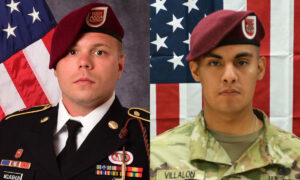 2 Fort Bragg Soldiers Killed in Afghanistan Identified: Pentagon