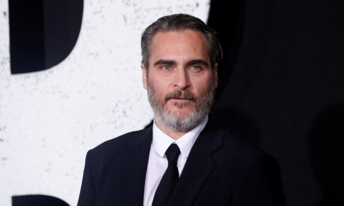 "Joaquin Phoenix attends the premiere for the film ""Joker"" in Los Angeles, Calif., on Sept. 28, 2019. (Mario Anzuoni/Reuters)"