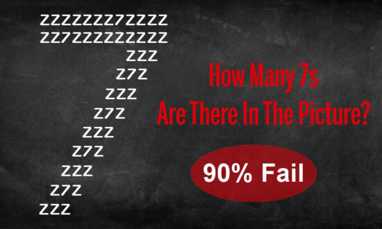 60-second Challenge: How Many 7s Can You Count in This Picture Puzzle in 1 Minute?