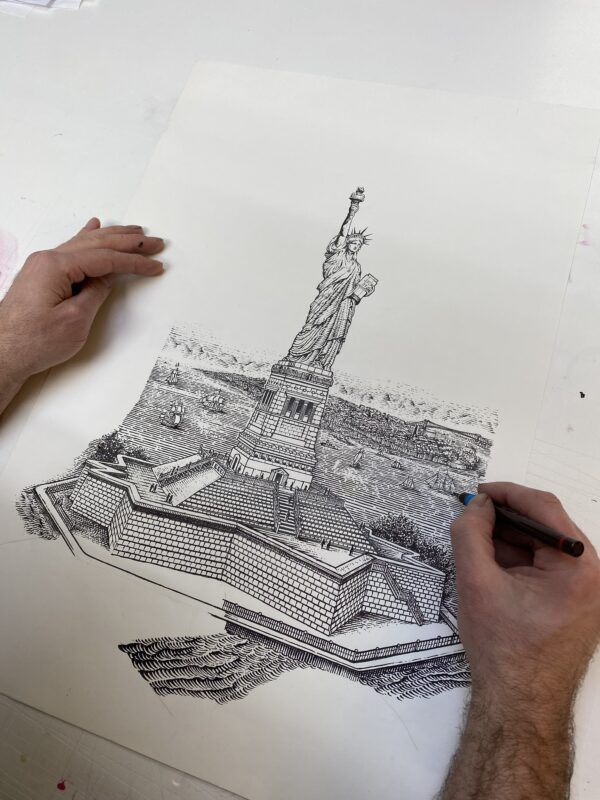 Statue of Liberty David Adrian Smith
