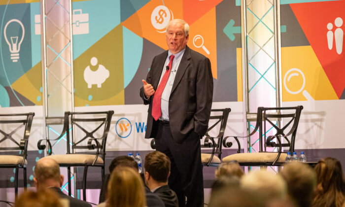 Boston Fed President Eric S. Rosengren speaks about the economy and monetary policy at an event in Hartford, Conn., on Jan. 13, 2020. (Photo courtesy of the Federal Reserve Bank of Boston)