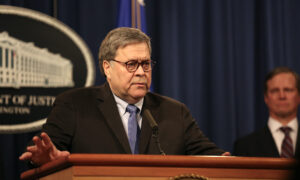Barr Calls Attack on Soleimani a Legitimate Act of Self-Defense