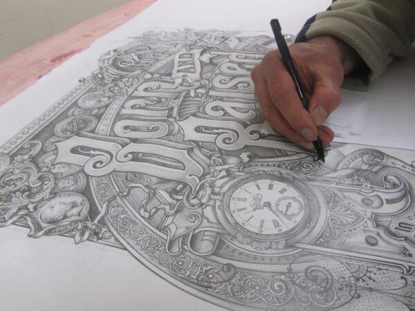 David Adrian Smith Pencil Drawing