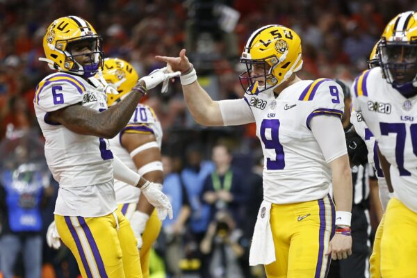 LSU quarterback Joe Burrow 2