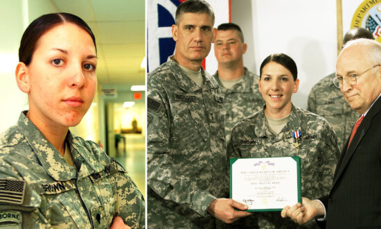 Female Army Medic Who Ran Through a Hail of Bullets to Save 5 Men in Burning Humvee Earns Silver Star
