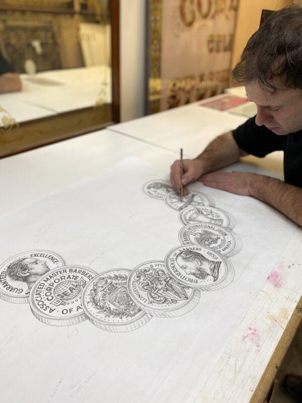 David Adrian Smith drawing