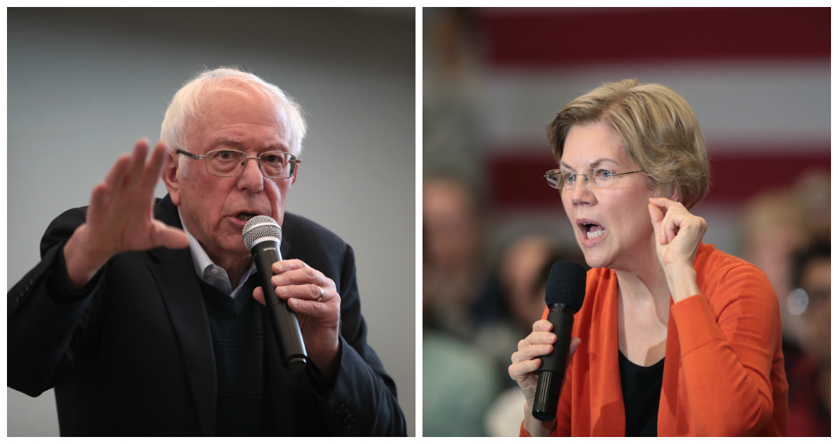 Sanders on Warren's Claim That He Said a Woman Can't Become President: 'I Didn't Say It'