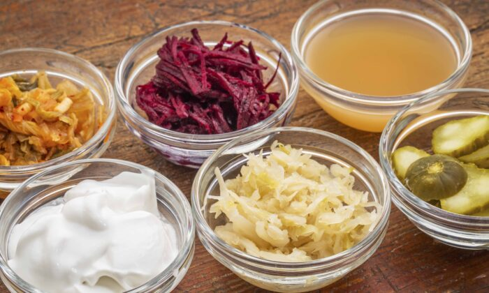 Fermented foods contain beneficial bacteria that take up residence in your gut and help keep you well. (marekuliasz/Shutterstock)