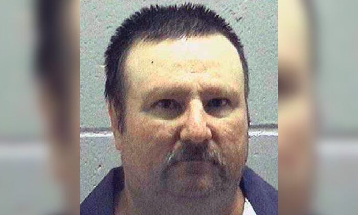 Jimmy Fletcher Meders in an undated file photo. (Georgia Department of Corrections via AP)