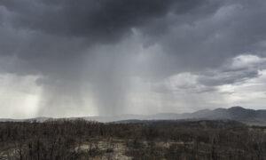 Thunderstorms Sweep Across Australia's Bushfire-Ravaged East Coast