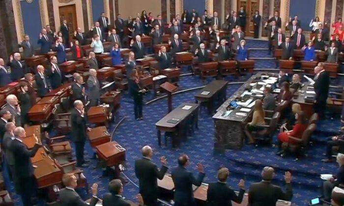 A file photo of the Senate floor. (C-Span / U.S. Senate)