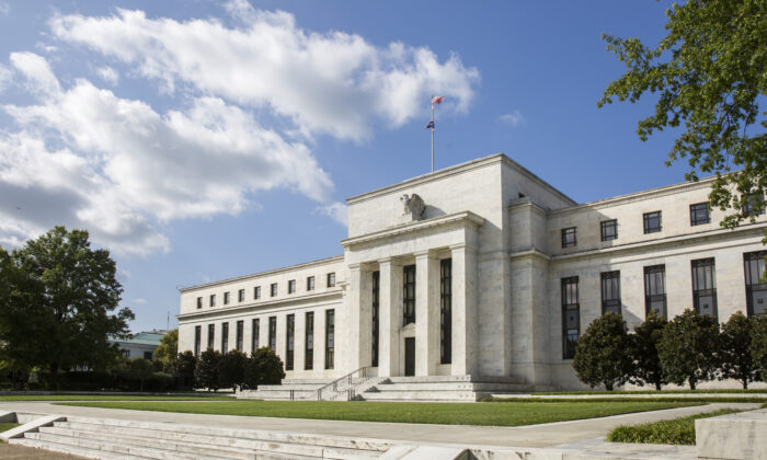 The Federal Reserve building in Washington on Sept. 19, 2017. (Samira Bouaou/The Epoch Times)
