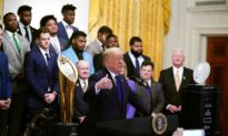 Trump Welcomes Football Champions LSU Tigers at the White House