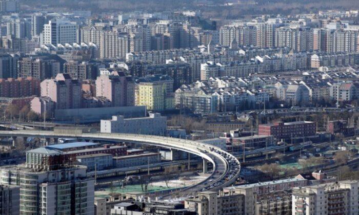 Residential buildings are seen in Beijing, China, on Jan. 10, 2017. (Jason Lee/Reuters)