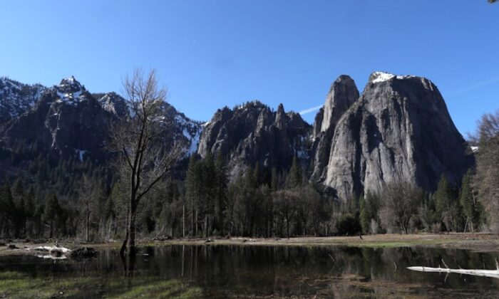 Yosemite Valley is seen in Yosemite National Park, California, on March 30, 2019. (Reuters/Lucy Nicholson)