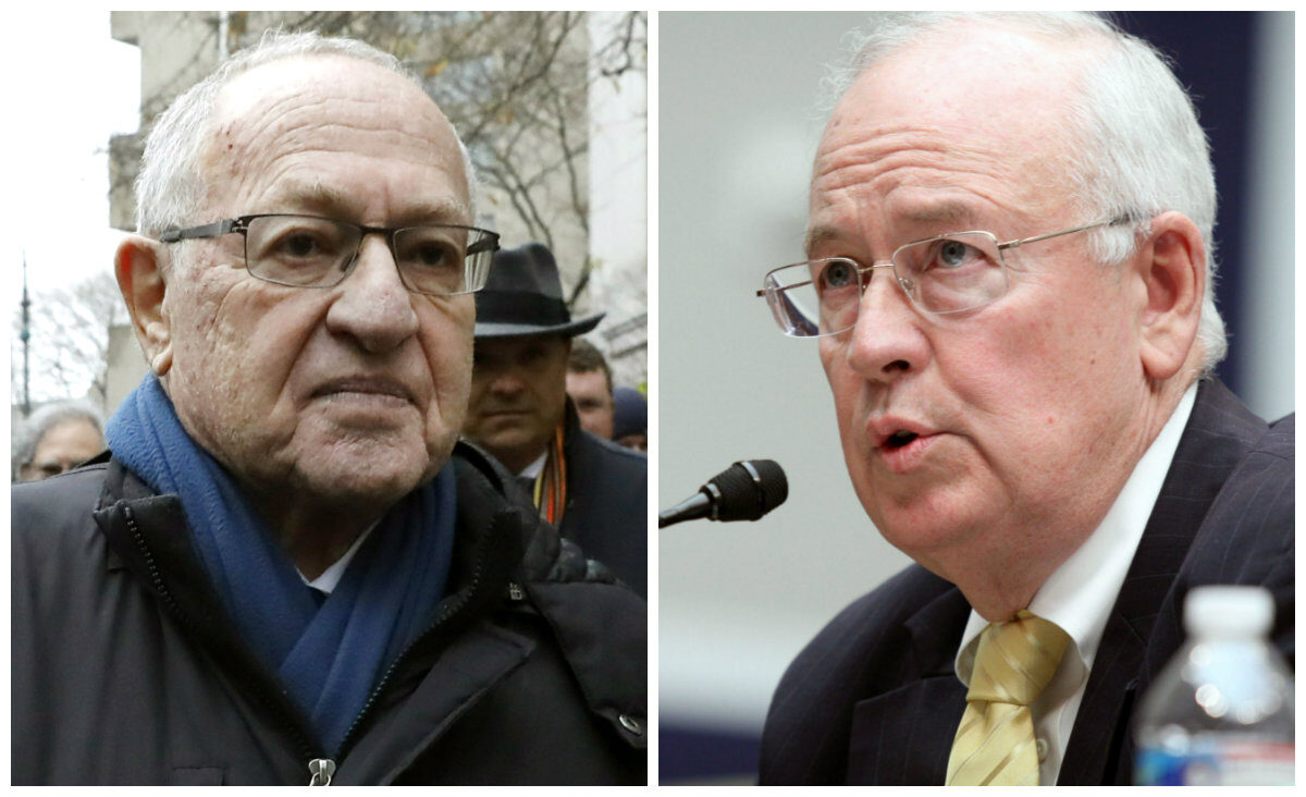 Alan Dershowitz and Ken Starr