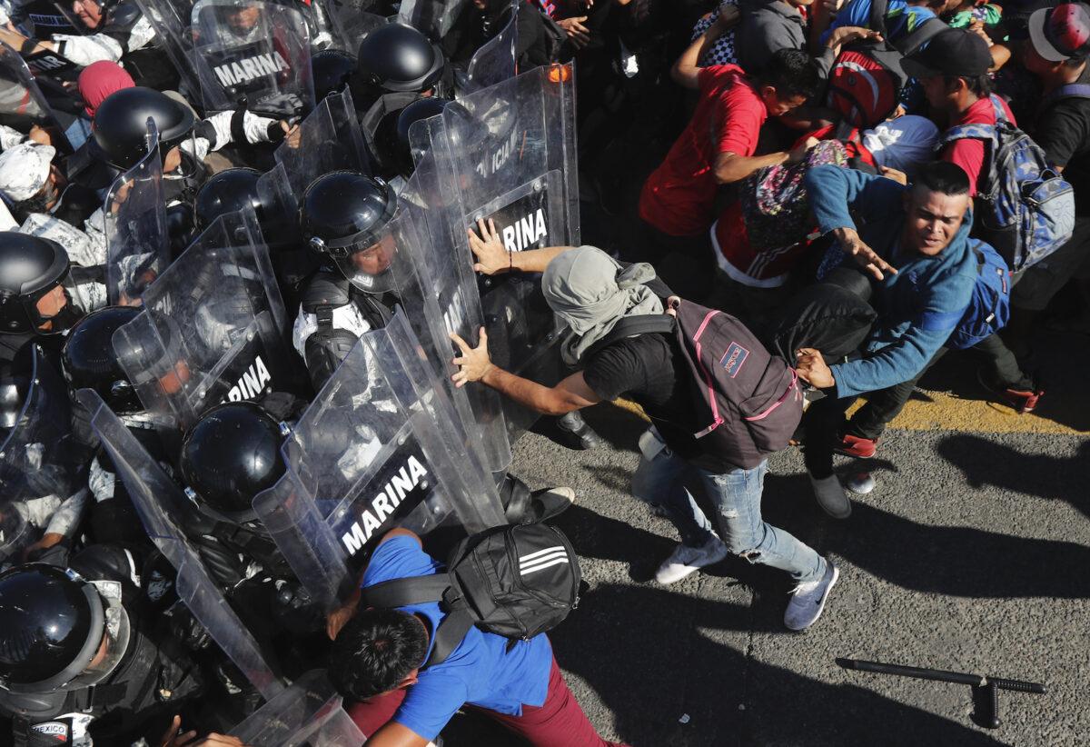 Guatemala Mexico Migrants