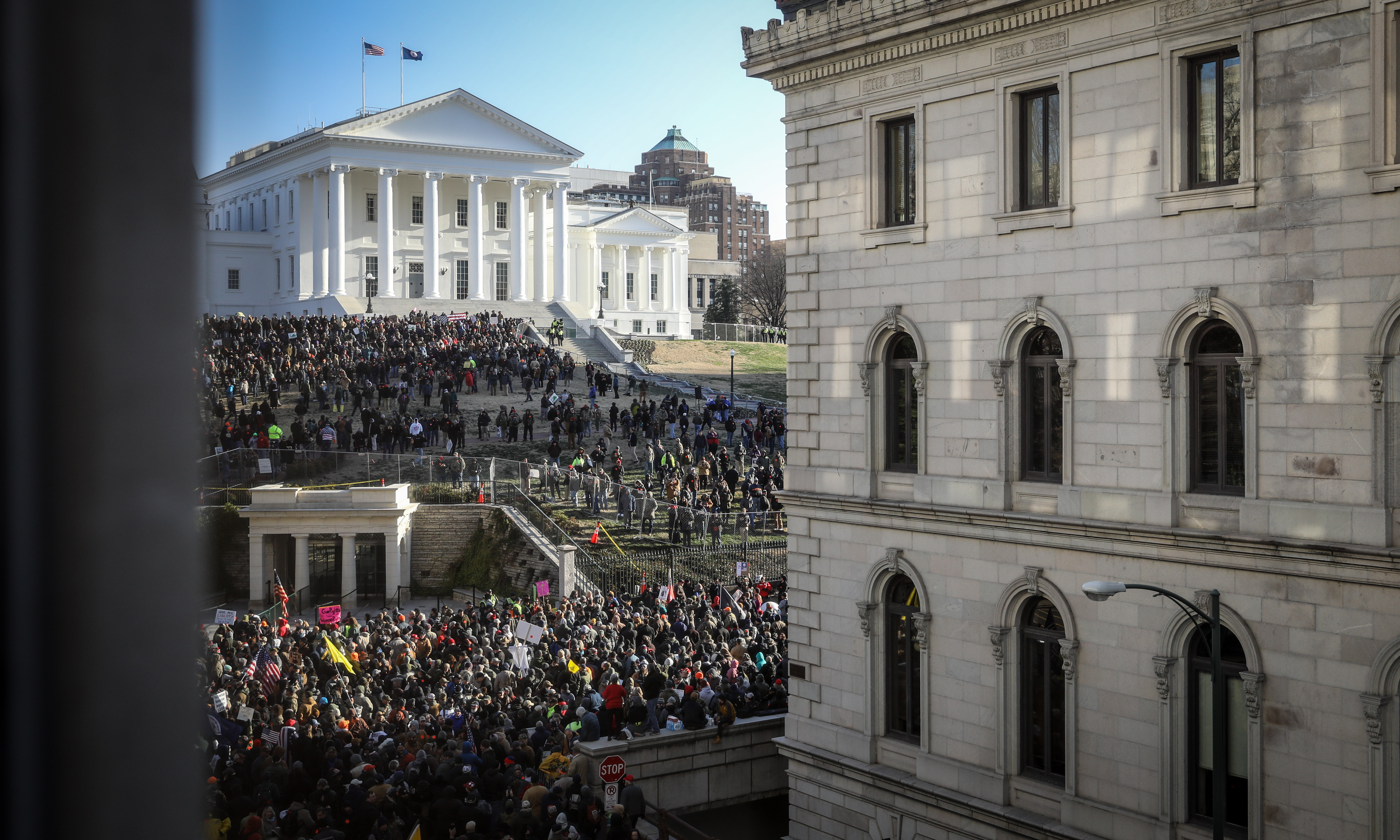 Over 18,000 Second Amendment Advocates Converge Peacefully on Virginia's State Capitol