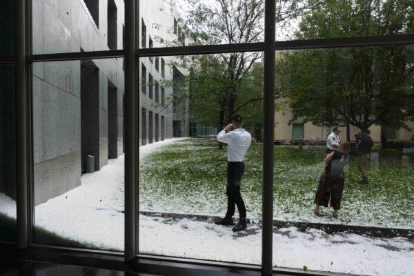 Australia hail