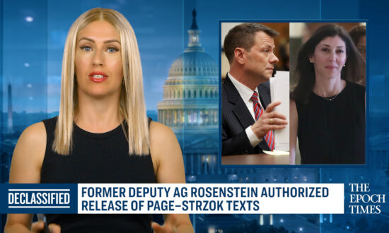 Rosenstein Says He Authorized Release of Page–Strzok Text Messages