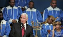 Pence Honors Martin Luther King Jr. at Church Service