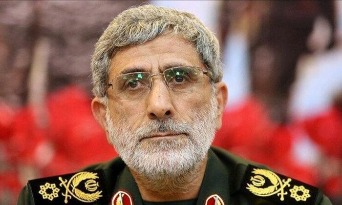 Maj. Gen. Esmail Qaani in an undated file photo. (Office of the Iranian Supreme Leader via AP)