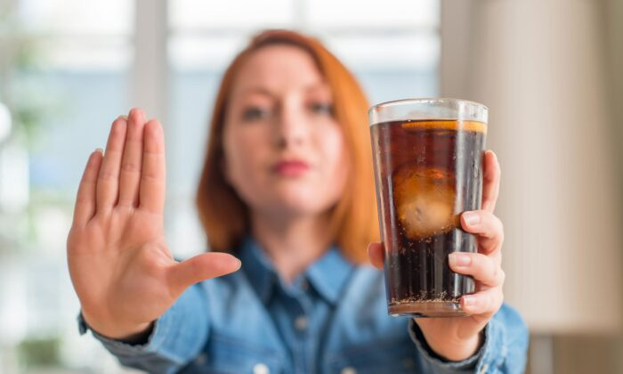That diet soda isn't going to satisfy your sweet tooth. In fact, research indicates it will make it worse. (Krakenimages.com/Shutterstock)