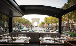 Dinner on a Bus Is the Best Way to See Paris