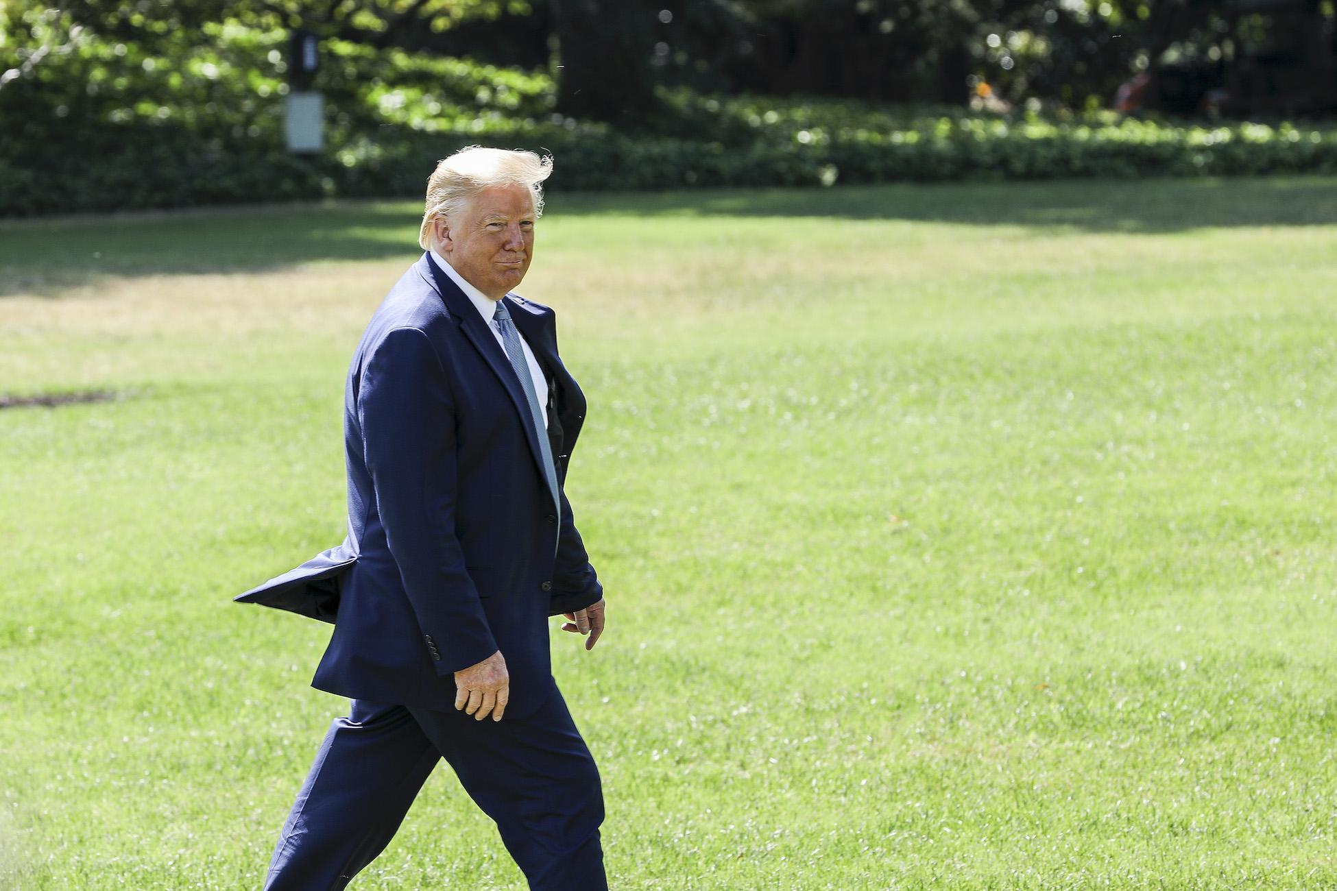 Trump Announces 8 House Republicans For Impeachment Defense Team