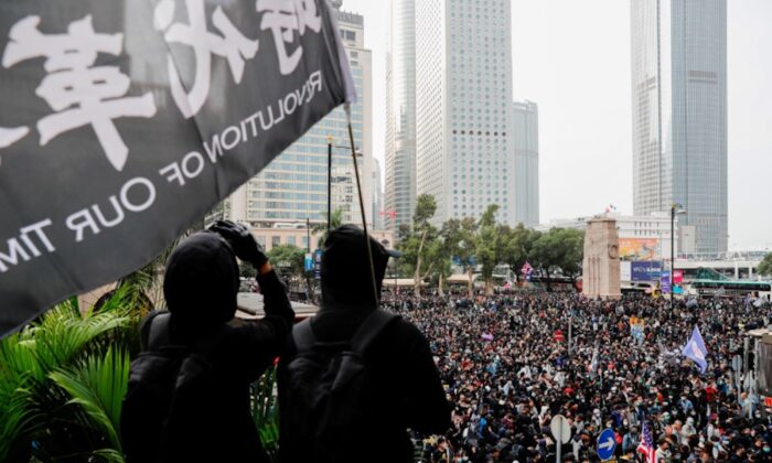 Protesters attend a rally to call for democratic reforms in Hong Kong, China on Jan. 19, 2020. (Tyrone Siu/Reuters)