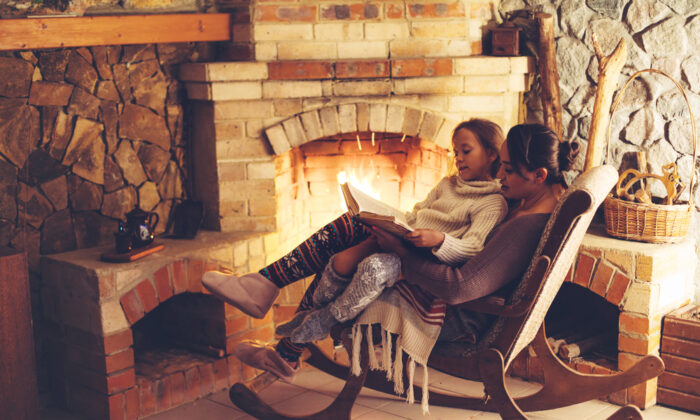 In winter, we tend to want to stay home more, hunker down by the fire, sip tea, and replenish ourselves.  (Shutterstock)