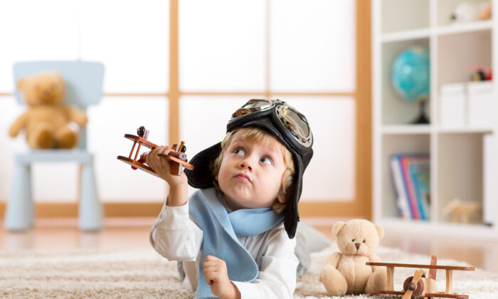 Since children of this age don't typically have the verbal communication skills necessary to communicate effectively, art and dramatic play are important forms of expression.  (Shutterstock)