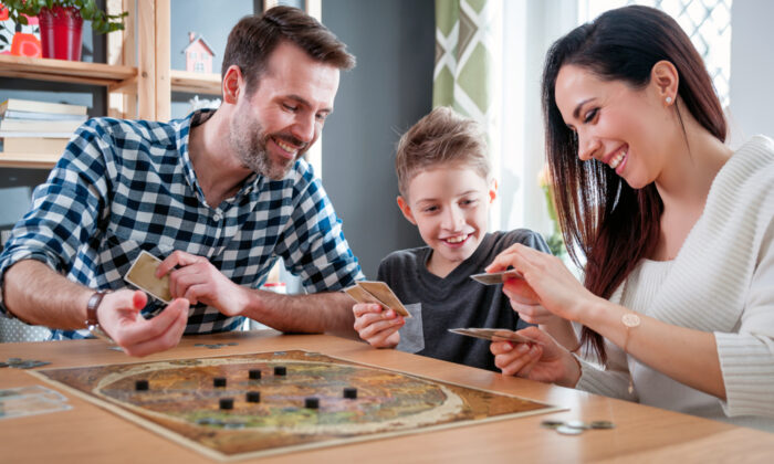Playing board games together is one of the easiest ways to connect with your family. (Shutterstock)