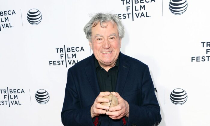"Actor Terry Jones attends the ""Monty Python And The Holy Grail"" Special Screening during the 2015 Tribeca Film Festival at Beacon Theatre in New York City on April 24, 2015.  (Stephen Lovekin/Getty Images for the 2015 Tribeca Film Festival)"