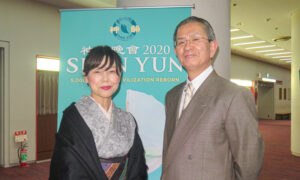 Japanese High School Principal and His Wife Perceive Divine Beings in Shen Yun Performance