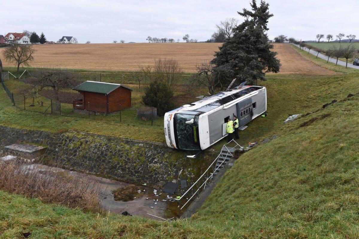 Bus crash in Germany