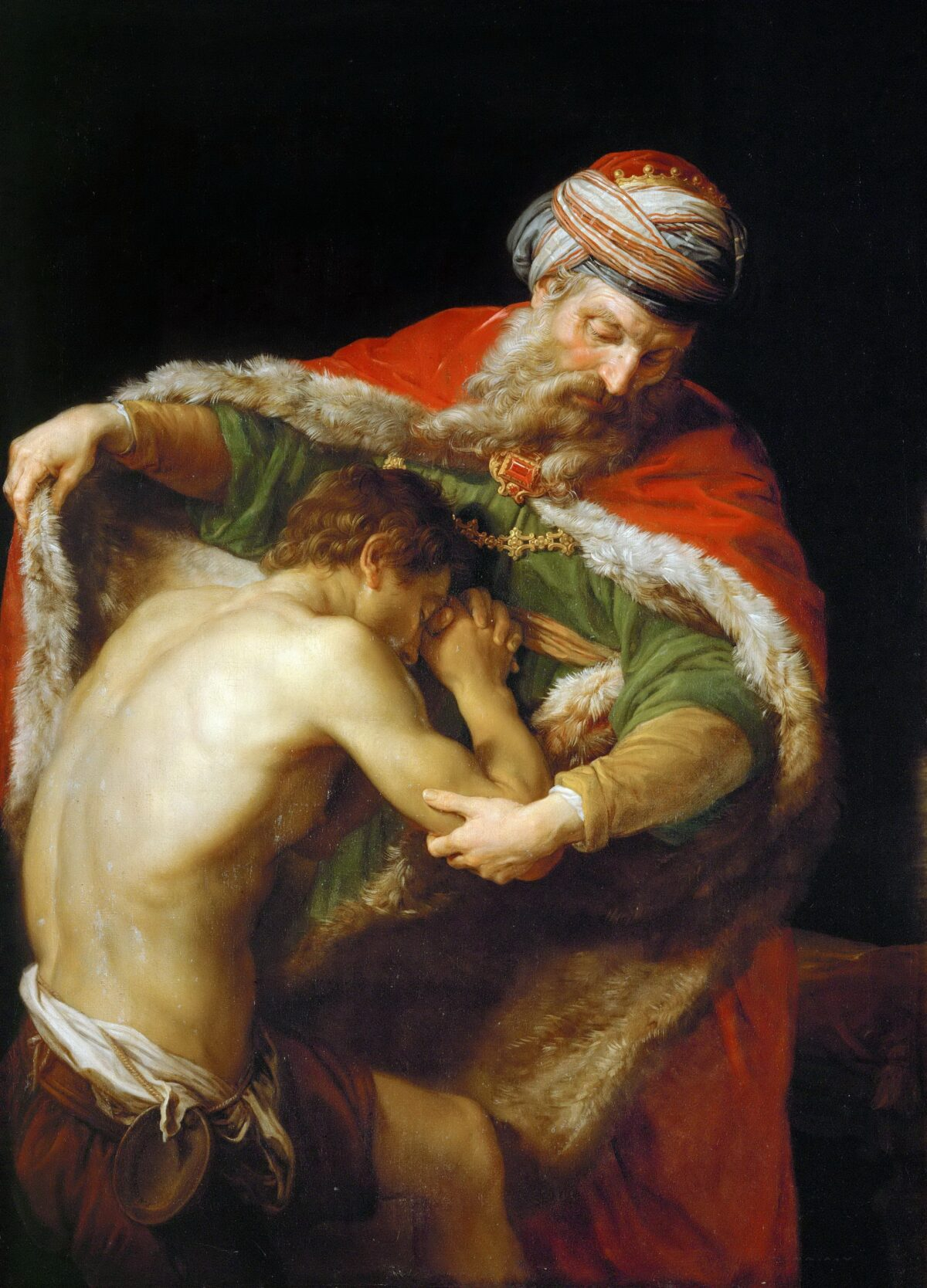 """""""The Return of the Prodigal Son,"""" 1773, by Pompeo Batoni"""