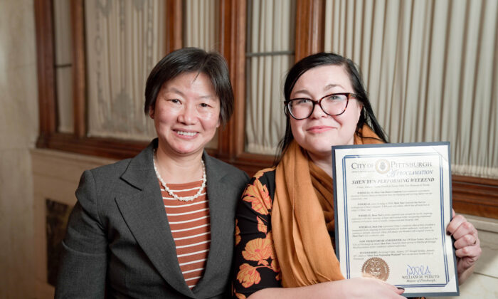 City of Pittsburgh Proclaims 'Shen Yun Performing Weekend' and Expresses Its Gratitude