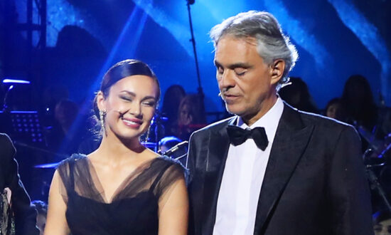 Watch Andrea Bocelli and Russian Opera Star Aida Garifullina Sing 'Ave Maria' in Gothic Church