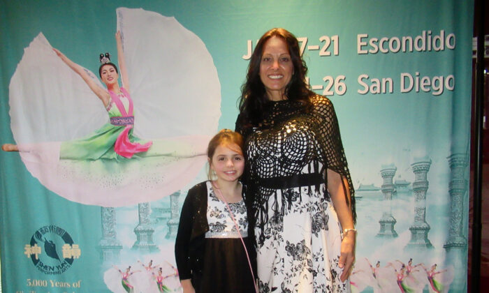 Mother and Daughter Revel in Shen Yun's Inspiring Artistic Perfection