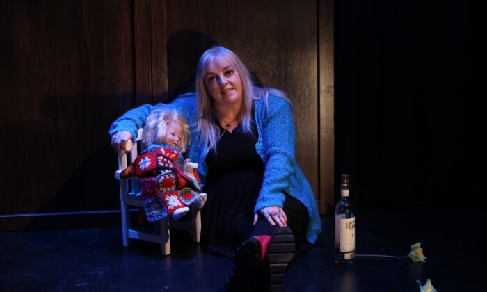 "Playwright-actor Michelle Dooley Mahon presents a moving autobiographical study of her mother's death in ""Scourge."" (Carol Rosegg)"