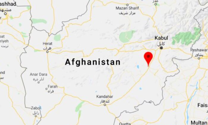 A Boeing plane has crashed in the Sado Khel area of Deh Yak district of Ghazni province in Afghanistan on Jan. 27, 2020. (Screenshot/Google Maps)