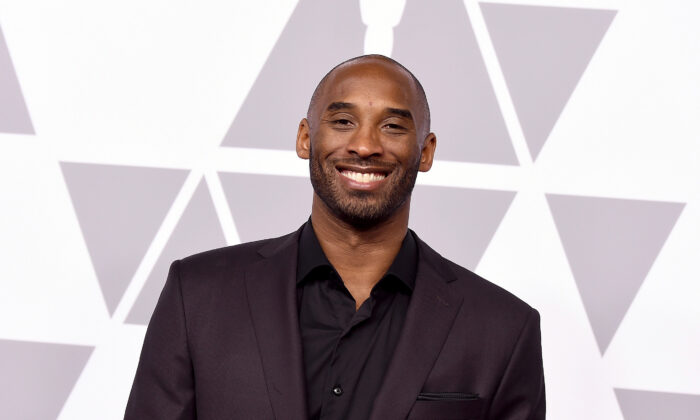 Kobe Bryant attends the 90th Annual Academy Awards Nominee Luncheon at The Beverly Hilton Hotel in Beverly Hills, Calif., on Feb. 5, 2018.  Kevin Winter/Getty Images